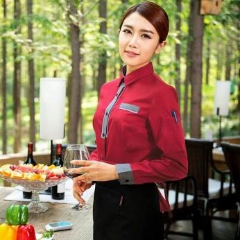 餐厅服务员装