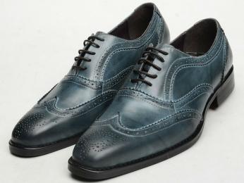 休闲皮鞋定制